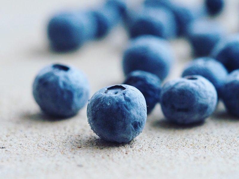 blauwe bessen zijn gezond - antioxidanten - ijsjes - hersenen
